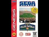 SEAGATE Sega Game SPORTS COLLEGE FOOTBALLS NATIONAL CHAMPIONSHIP
